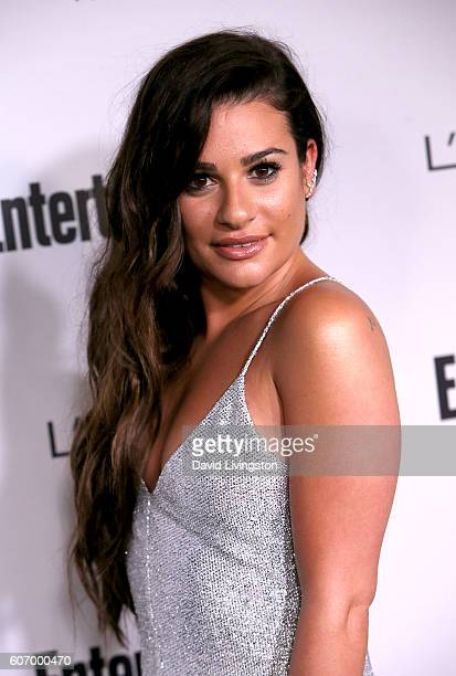Actress Lea Michele attends Entertainment Weekly's 2016 Pre-Emmy Party at Nightingale Plaza on September 16, 2016 in Los Angeles, California.