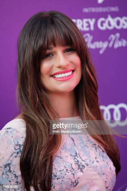 Actress Lea Michele attends the 11th Annual Chrysalis Butterfly Ball on June 9 2012 in Los Angeles California