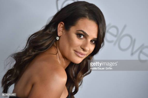 Actress Lea Michele attends the 19th Annual PostGolden Globes Party hosted by Warner Bros Pictures and InStyle at The Beverly Hilton Hotel on January...