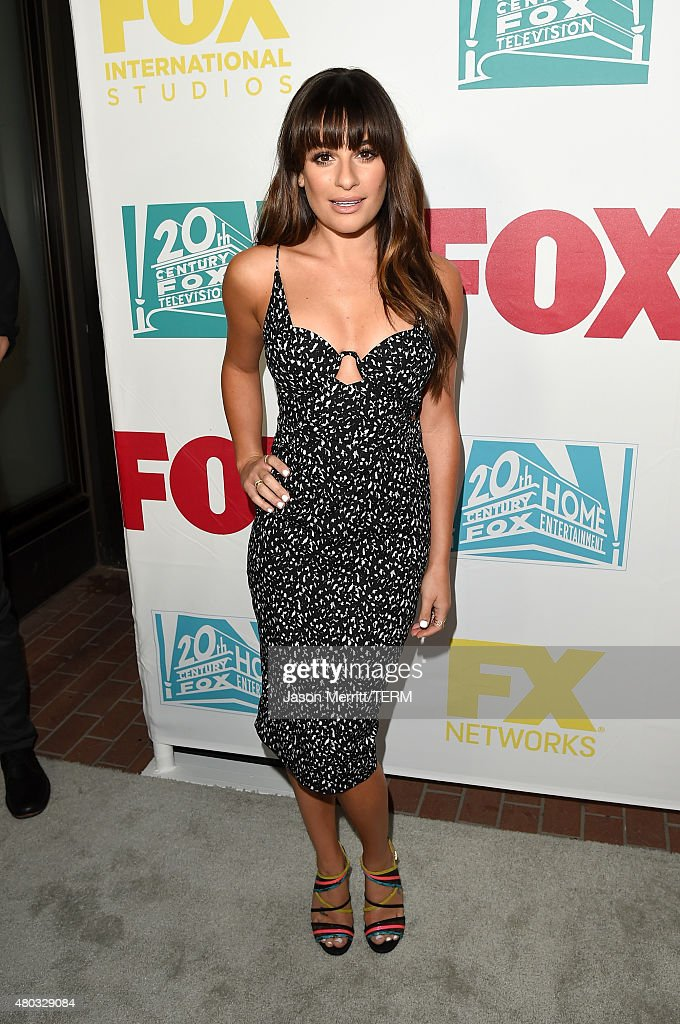 Actress Lea Michele attends the 20th Century Fox party during Comic-Con International 2015 at Andaz Hotel on July 10, 2015 in San Diego, California.