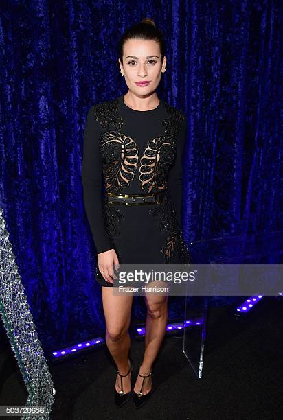 Actress Lea Michele attends the People's Choice Awards 2016 at Microsoft Theater on January 6, 2016 in Los Angeles, California.