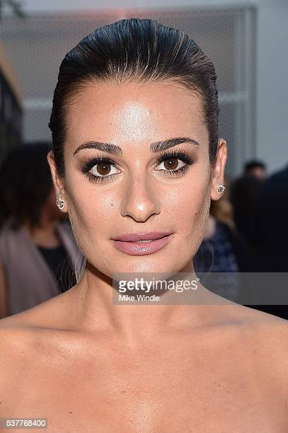 Actress Lea Michele attends the Television Academy's 70th Anniversary Gala on June 2 2016 in Los Angeles California
