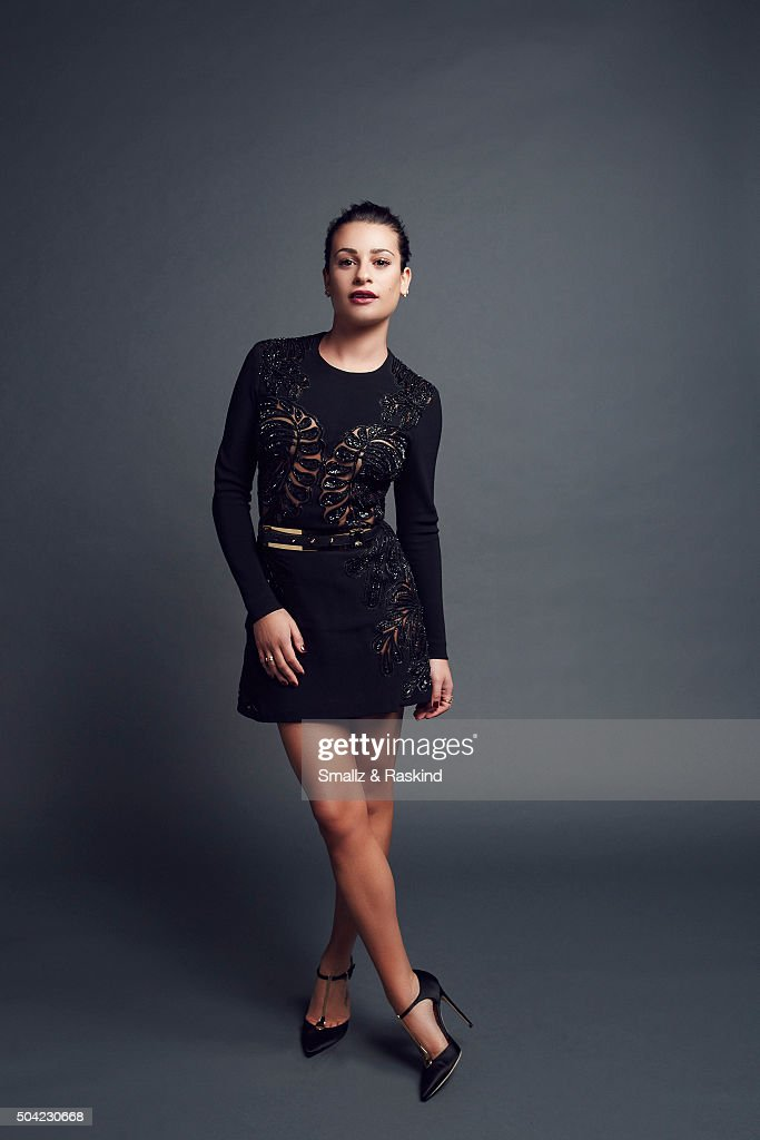 Actress Lea Michele poses for a portrait at the 2016 People's Choice Awards at the Microsoft Theater on January 6, 2016 in Los Angeles, California.