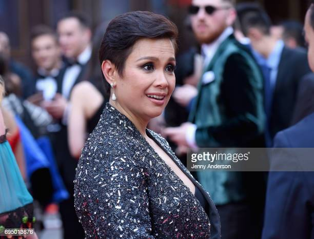Actress Lea Salonga attends the 2017 Tony Awards at Radio City Music Hall on June 11 2017 in New York City