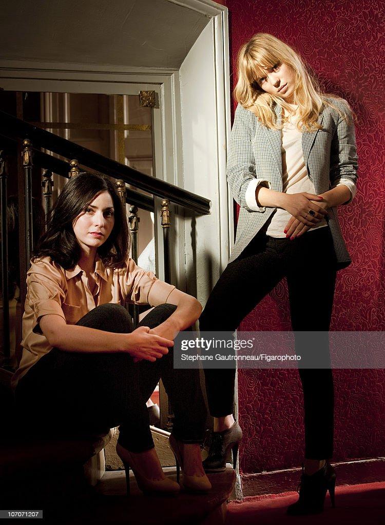 Lea Seydoux and Rebecca Zlotowski, Madame Figaro, November 12, 2010 : Nachrichtenfoto