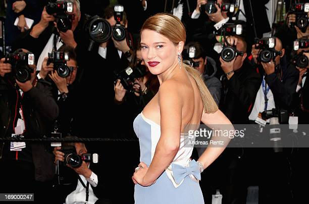 Actress Lea Seydoux attends 'Grand Central' Premiere during the 66th Annual Cannes Film Festival at Palais des Festivals on May 18 2013 in Cannes...