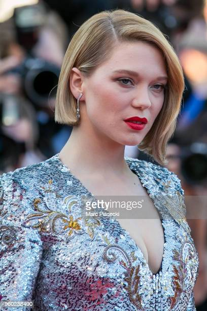 Actress Lea Seydoux attends the Closing Ceremony screening of The Man Who Killed Don Quixote during the 71st annual Cannes Film Festival at Palais...