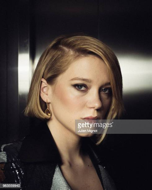 Actress Lea Seydoux is photographed for Grazia Daily on May 2018 in Cannes France