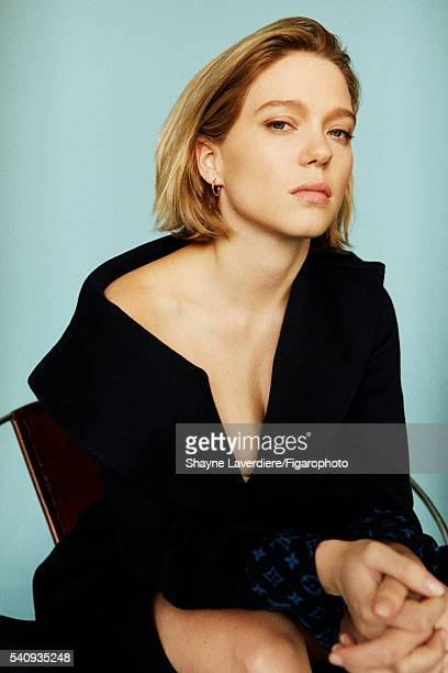 Actress Lea Seydoux is photographed for Madame Figaro on April 8 2016 in Paris France All PUBLISHED IMAGE CREDIT MUST READ Shayne...
