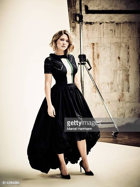 Actress Lea Seydoux is photographed for Self Assignment on June 17 2016 in Paris France #MORE IMAGES AVAILABLE UPON REQUEST#