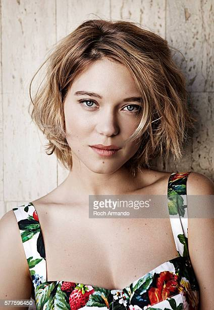 Actress Lea Seydoux is photographed for Self Assignment on May 20 2013 in Cannes France