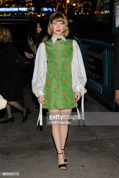 Actress Lea Seydoux is seen on November 30 2017 in New York City
