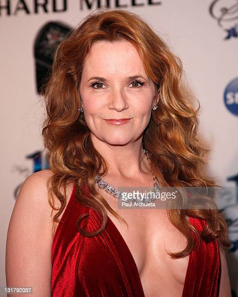 Actress Lea Thompson arrives at the 21st annual Night Of 100 Stars awards gala at Beverly Hills Hotel on February 27 2011 in Beverly Hills California