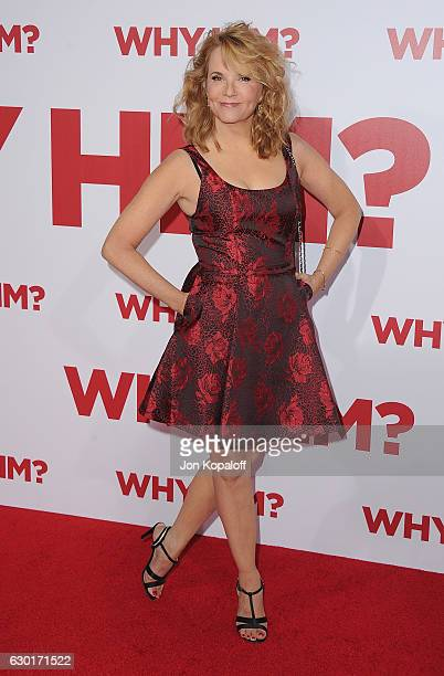 Actress Lea Thompson arrives at the Los Angeles Premiere Why Him at Regency Bruin Theater on December 17 2016 in Westwood California
