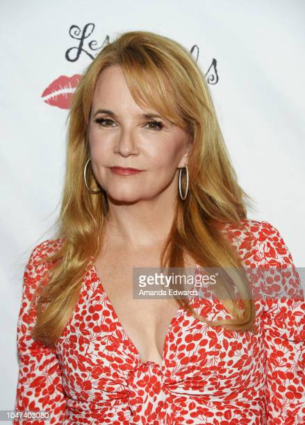 Actress Lea Thompson arrives at The National Breast Cancer Coalition's 18th Annual Les Girls Cabaret at Avalon Hollywood on October 7 2018 in Los...