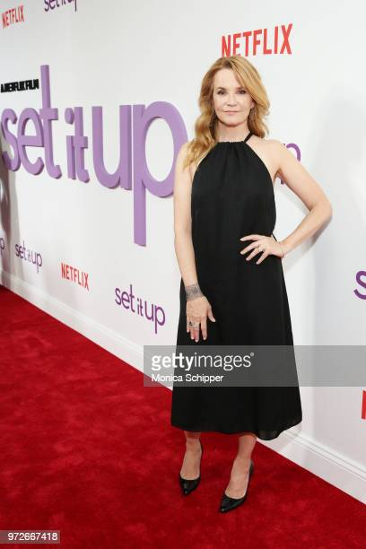 Actress Lea Thompson attends a special screening of the Netflix film Set It Up at AMC Lincoln Square Theater on June 12 2018 in New York City