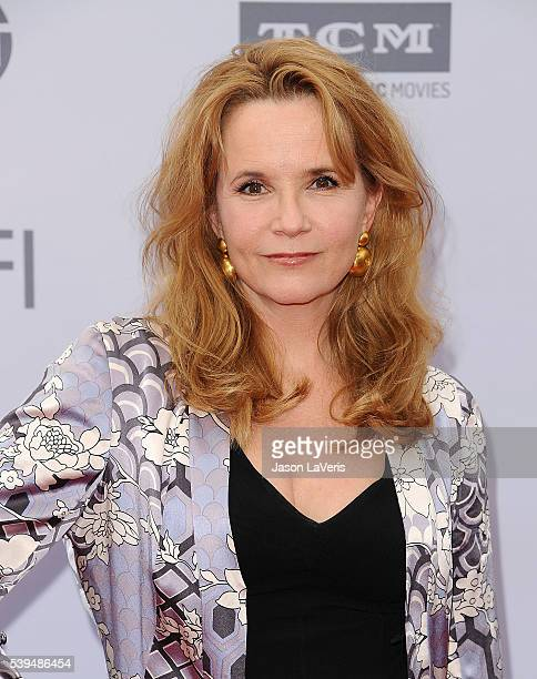 Actress Lea Thompson attends the 44th AFI Life Achievement Awards gala tribute at Dolby Theatre on June 9 2016 in Hollywood California