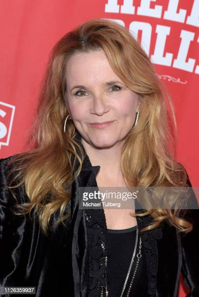 Actress Lea Thompson attends the Los Angeles premiere of the musical Hello Dolly at the Pantages Theatre on January 30 2019 in Hollywood California