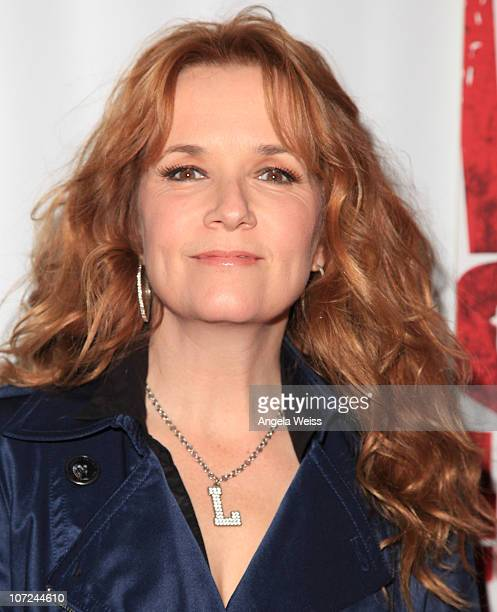 Actress Lea Thompson attends the opening night of 'West Side Story' at the Pantages Theatre on December 1 2010 in Hollywood California