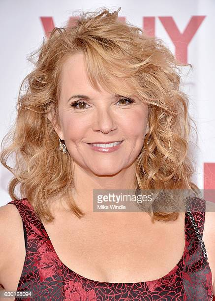 Actress Lea Thompson attends the premiere of 20th Century Fox's Why Him at Regency Bruin Theater on December 17 2016 in Westwood California