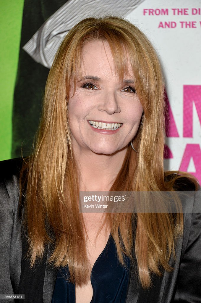Actress Lea Thompson attends the premiere of The Weinstein Company's 'Vampire Academy' at Regal Cinemas L.A. Live on February 4, 2014 in Los Angeles, California.