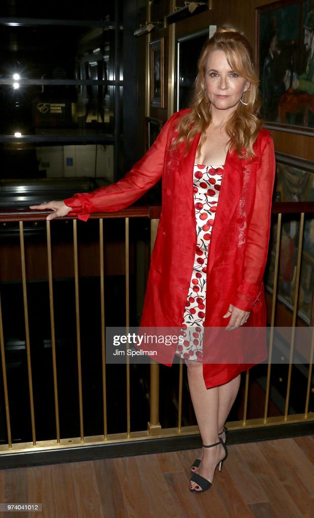 Actress Lea Thompson attends the screening after party for 'The Year Of Spectacular Men' hosted by MarVista Entertainment and Parkside Pictures with The Cinema Society at Legacy Records on June 13, 2018 in New York City.