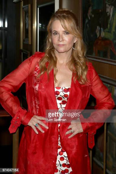 Actress Lea Thompson attends the screening after party for 'The Year Of Spectacular Men' hosted by MarVista Entertainment and Parkside Pictures with...
