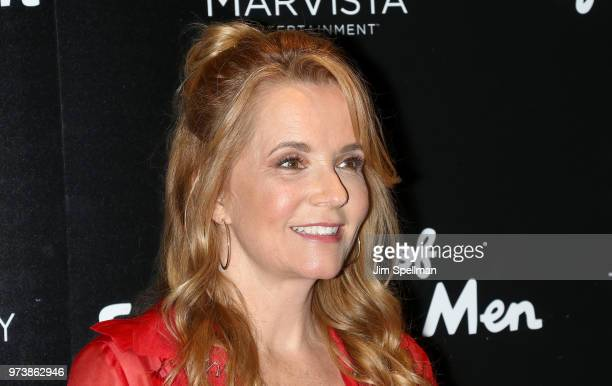 Actress Lea Thompson attends the screening of 'The Year Of Spectacular Men' hosted by MarVista Entertainment and Parkside Pictures with The Cinema...