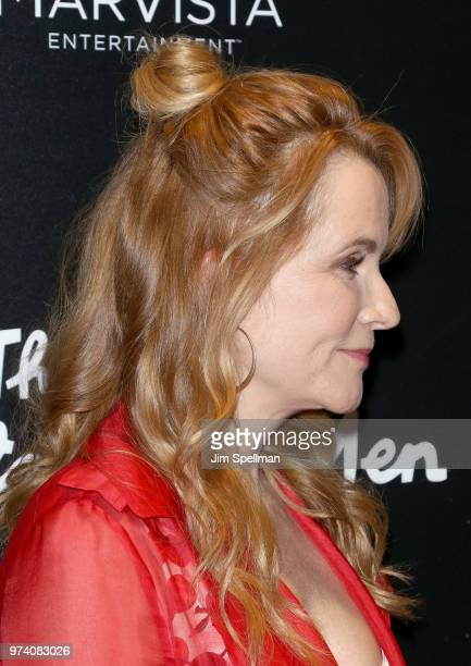 Actress Lea Thompson hair detail attends the screening of 'The Year Of Spectacular Men' hosted by MarVista Entertainment and Parkside Pictures with...