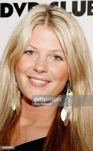 Actress Leah Gillingwater attends the Premiere Magazine Party for Last Goodbye at Premiere Lounge Soho at Tribeca Film Festival on May 6 2004 in New...