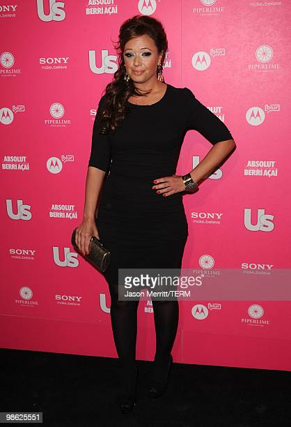 Actress Leah Remini arrives at the Us Weekly Hot Hollywood Style Issue celebration held at Drai's Hollywood at the W Hollywood Hotel on April 22 2010...