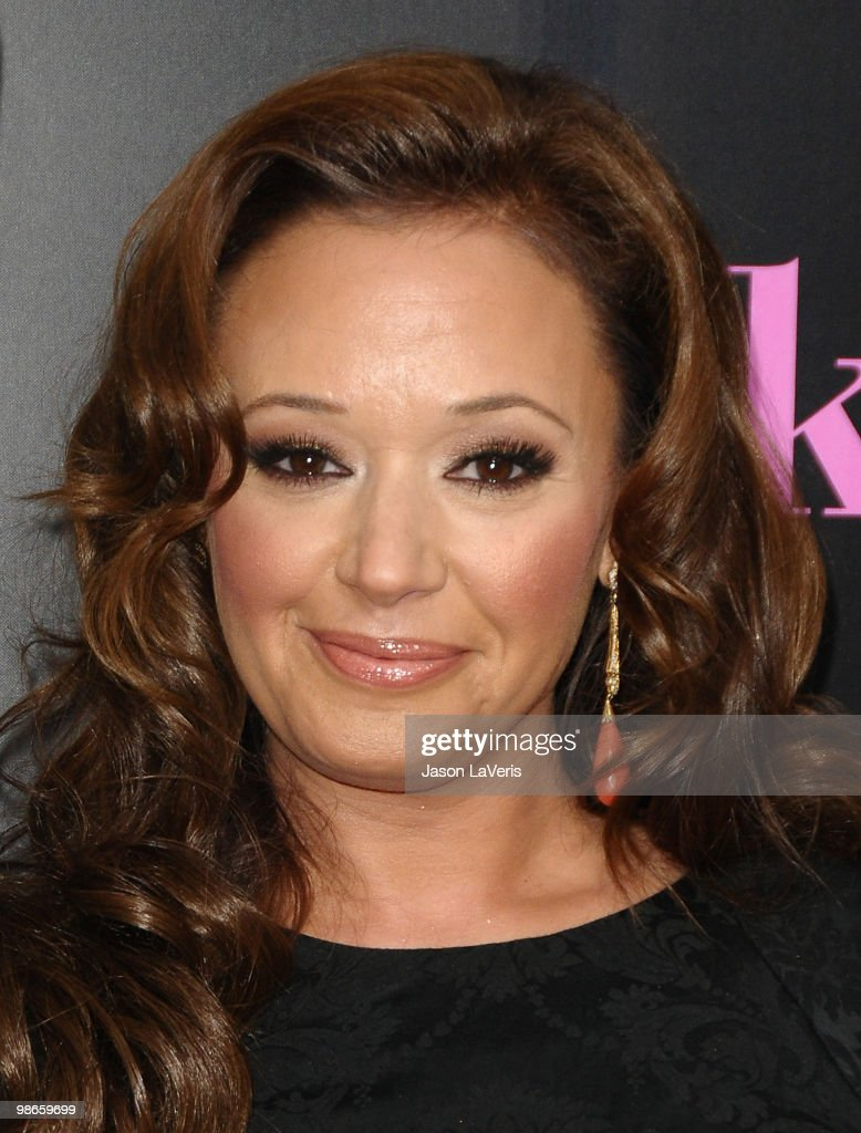 Actress Leah Remini attends the premiere of 'The Back-Up Plan' at Regency Village Theatre on April 21, 2010 in Westwood, California.