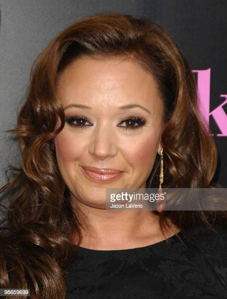 Actress Leah Remini attends the premiere of 'The BackUp Plan' at Regency Village Theatre on April 21 2010 in Westwood California