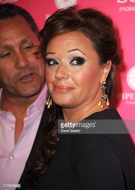 Actress Leah Remini attends the Us Weekly Hot Hollywood Style Issue Event at Drai's Hollywood on April 22 2010 in Hollywood California