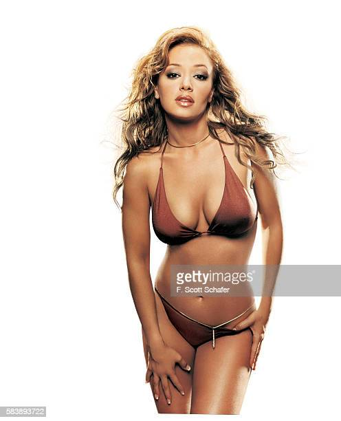 Actress Leah Remini is photographed for Stuff Magazine in 2001 in Los Angeles California