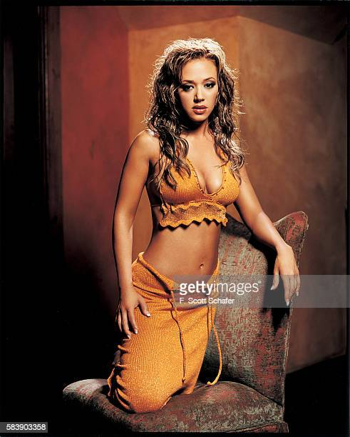 Actress Leah Remini is photographed for Stuff Magazine in 2001 in Los Angeles California PUBLISHED IMAGE
