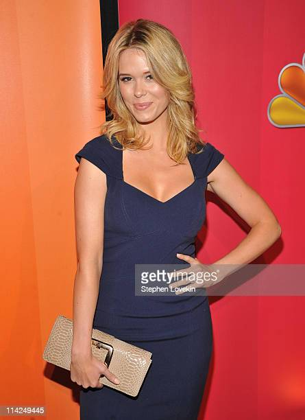 Actress Leah Renee attends the 2011 NBC Upfront at The Hilton Hotel on May 16 2011 in New York City