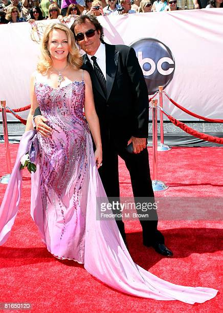 Actress Leann Hunley and actor Thaao Penghlis arrives at the 35th Annual Daytime Emmy Awards held at the Kodak Theatre on June 20 2008 in Hollywood...