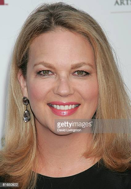 Actress Leann Hunley attends SOAPnet's 'Night Before Party' at Crimson Opera on June 19 2008 in Hollywood California