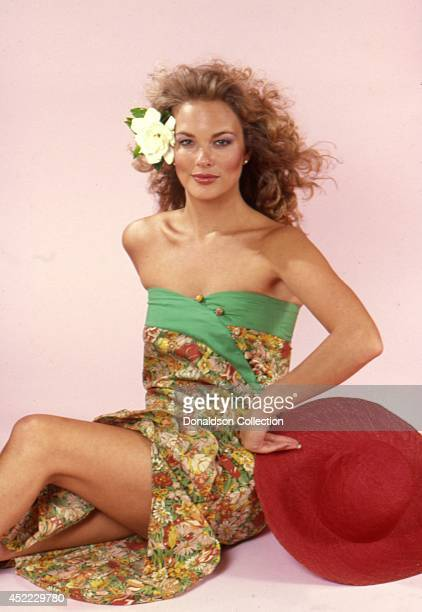 Actress Leann Hunley poses for a portrait session in circa 1982 in Los Angeles California