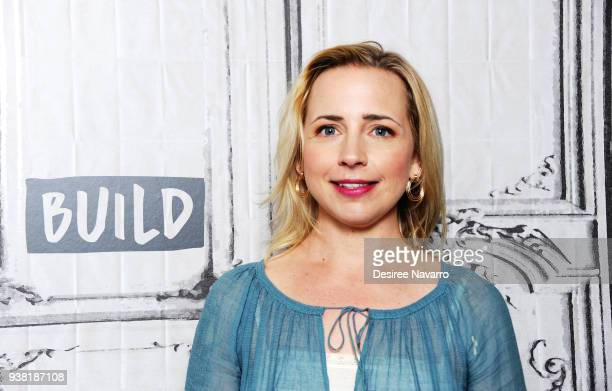 Actress Lecy Goranson attends Build Series to discuss 'Roseanne' at Build Studio on March 26 2018 in New York City