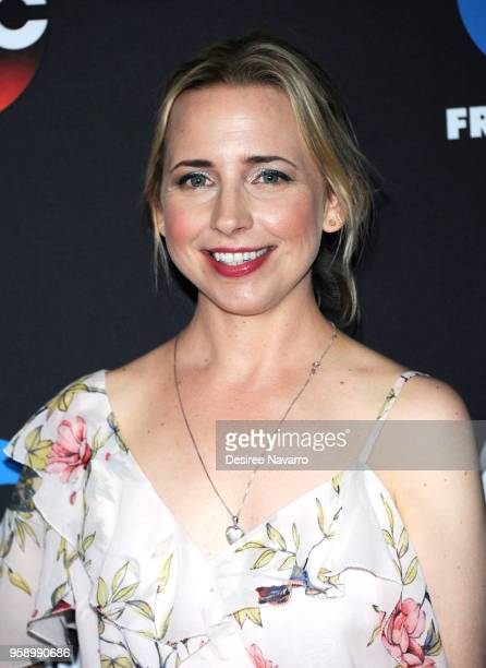 Actress Lecy Goranson attends the 2018 Disney ABC Freeform Upfront on May 15 2018 in New York City