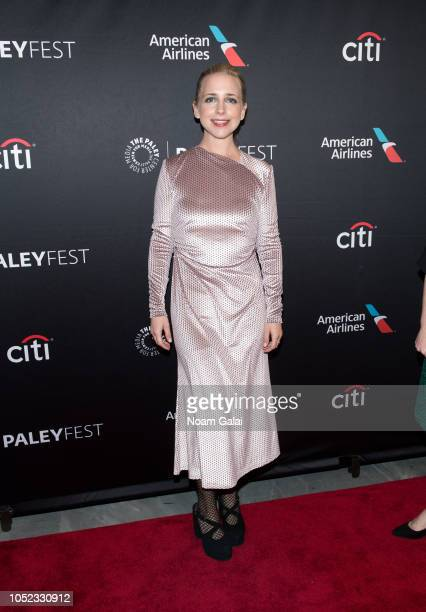 Actress Lecy Goranson attends The Conners premiere at the 2018 Paleyfest NY at The Paley Center for Media on October 16 2018 in New York City