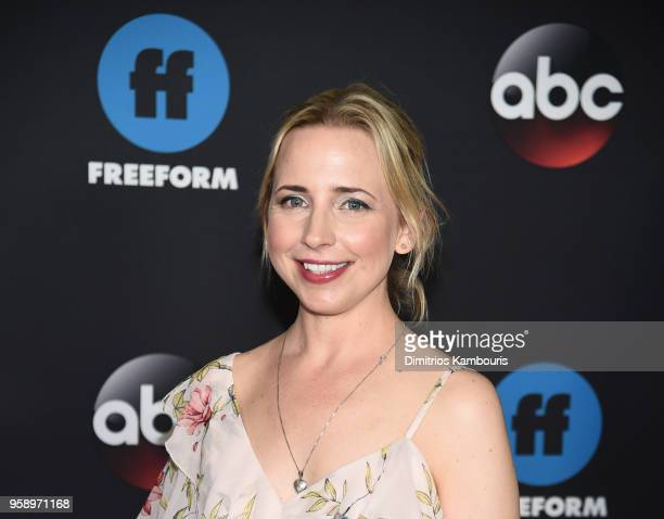 Actress Lecy Goranson of Roseanne attends during 2018 Disney ABC Freeform Upfront at Tavern On The Green on May 15 2018 in New York City