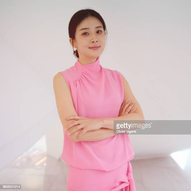 Actress Lee Bo-young is photographed for Self Assignment, on April, 2018 in Cannes, France. . .