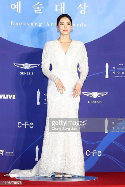 Actress Lee Da-hee attends the 55th Baeksang Arts Awards at COEX D Hall on May 01, 2019 in Seoul, South Korea.
