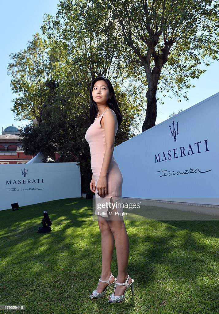 Celebrities At The Terrazza Maserati - Day 6 - The 70th Venice International Film Festival