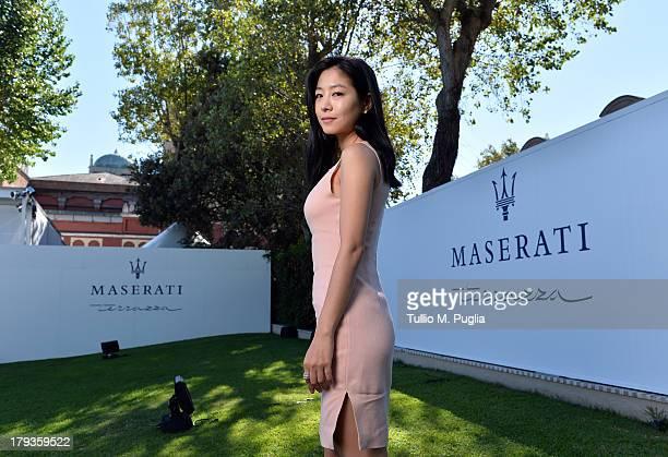 Actress Lee EunWoo attends the 70th Venice International Film Festival at Terrazza Maserati on September 2 2013 in Venice Italy
