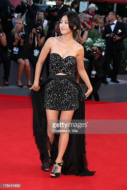 Actress Lee EunWoo attends the Moebius Premiere during the 70th Venice International Film Festival at Sala Grande on September 3 2013 in Venice Italy