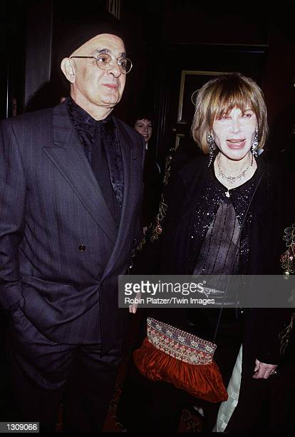 "Actress Lee Grant and her husband Joe Feury arrive October 10, 2000 at the New York premiere of Artisan Entertainment''s ""Dr. T & The Women"" at The..."